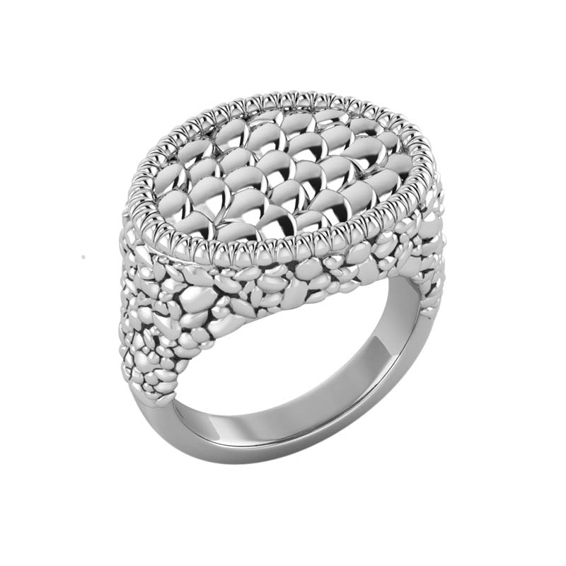 Beautifully and elegantly designed chic look men's ring